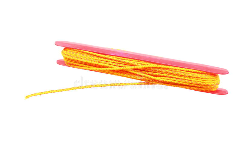 Download Yellow string roll up stock image. Image of yellow, white - 23815369