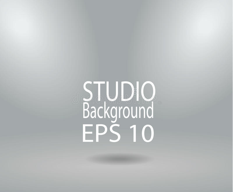 Yellow studio room backdrop background soft light. Mock up templ. Ate product display vector illustration