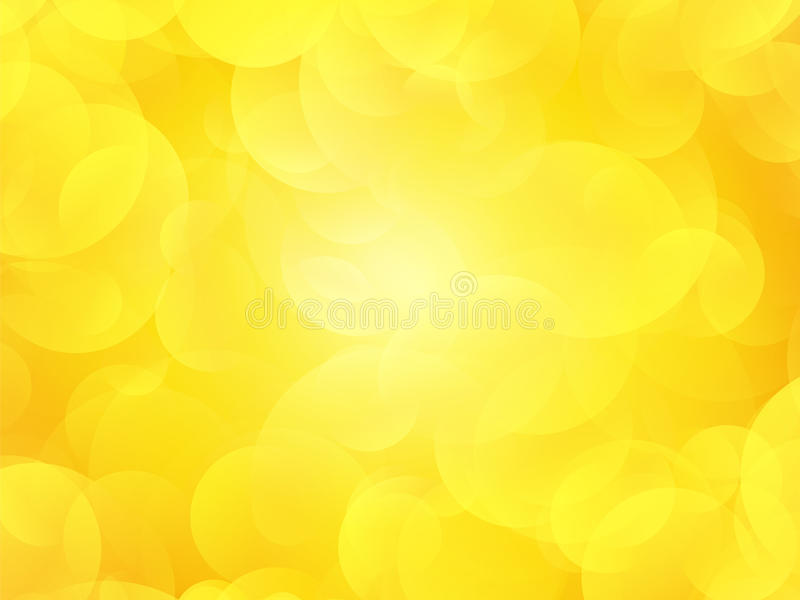 Yellow summer background vector illustration