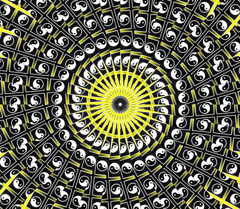 Download Yellow Sun Mandala stock photo. Image of abstraction - 16927186