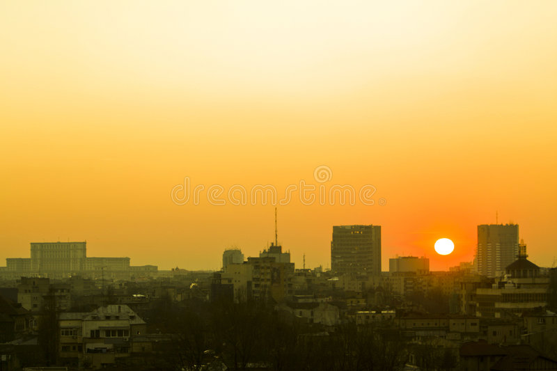 Yellow Sunshine In The Old Buc Stock Image