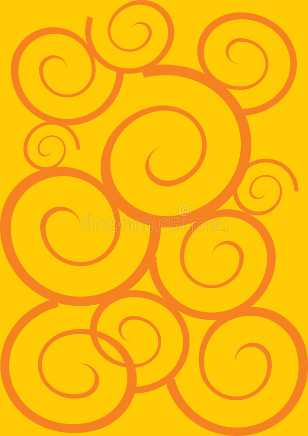 Download Yellow swing stock illustration. Image of curves, arts - 6056633