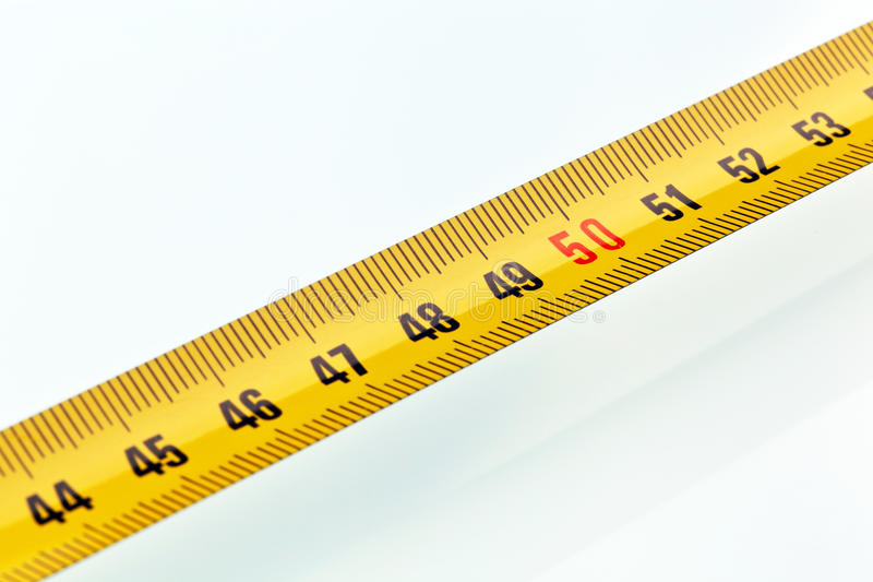 Download Yellow tape measure stock photo. Image of precision, design - 25048262