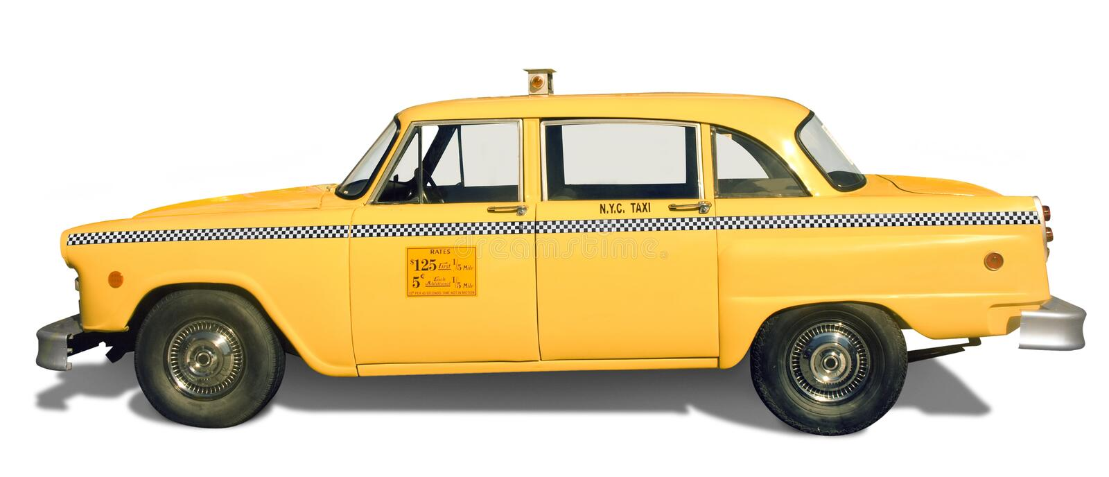 Download Yellow Taxi stock photo. Image of paint, orange, taxi - 16804604
