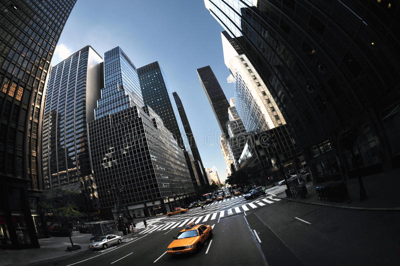 Download Yellow Taxi Cab On The 6th Av Editorial Stock Photo - Image: 25539508