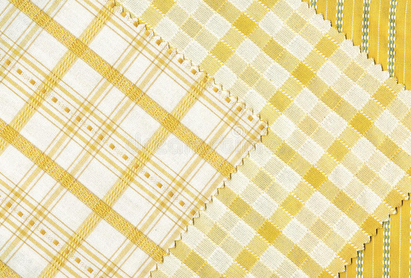 Download Yellow textile samples.. stock photo. Image of 60th, home - 27103904