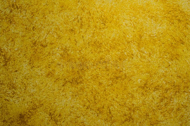 Yellow texture, glossy background, decorative paint stock photos