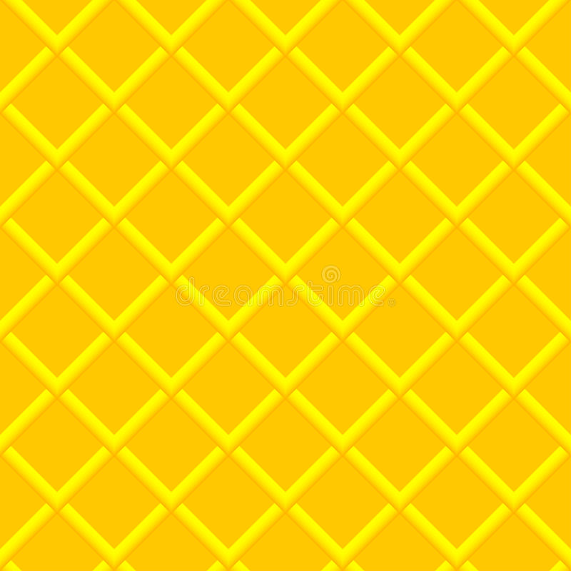 Yellow texture. Vector seamless background. Yellow geometric seamless texture. Vector background royalty free illustration