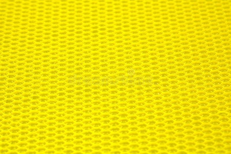 Yellow Textured Surface Stock Photo