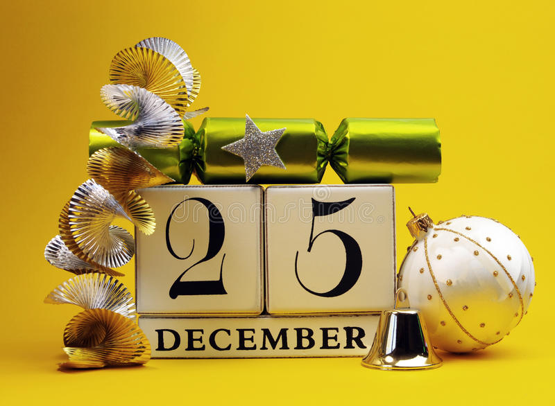 Yellow Theme Save The Date White Calendar For Christmas Day ...