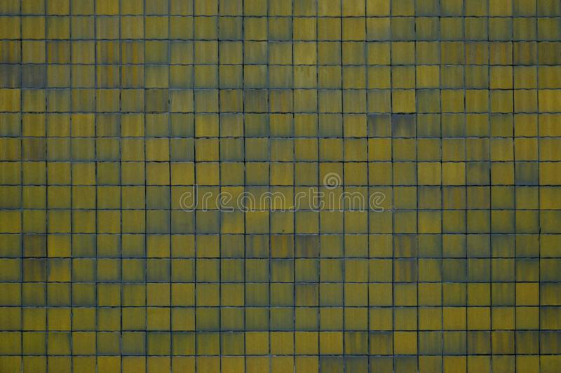 Yellow tiles background royalty free stock image