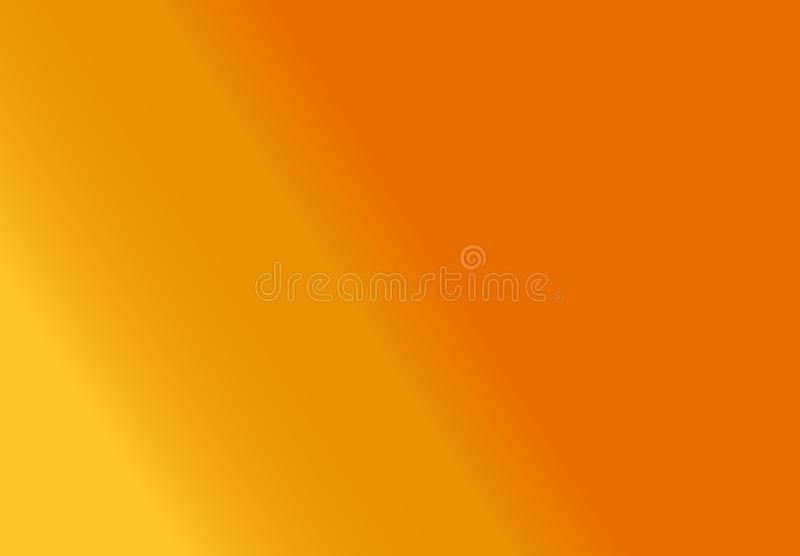 From yellow to orange background royalty free illustration