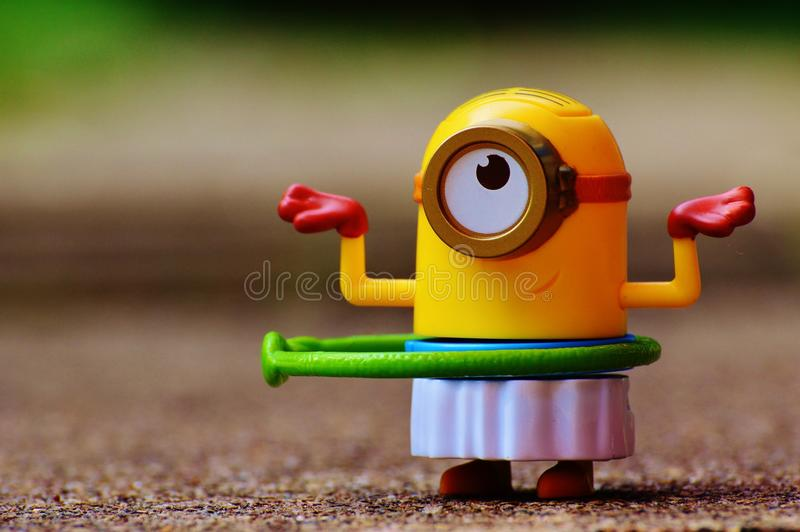 Yellow, Toy, Close Up, Play stock photo