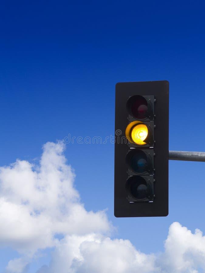 Yellow Traffic Light Stock Photos