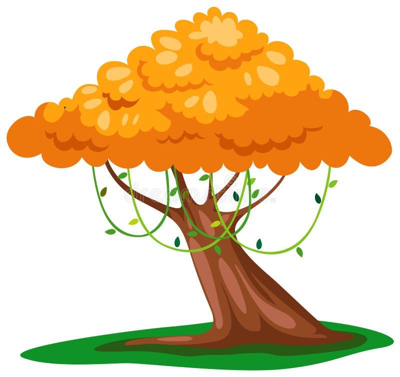 Free Yellow Tree Royalty Free Stock Photo - 15858645