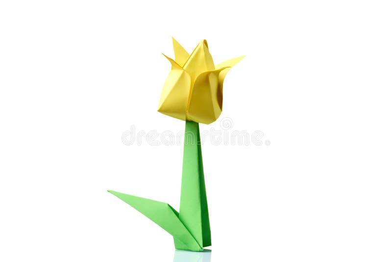 Yellow tulip origami flower stock photo image of hand handmade download yellow tulip origami flower stock photo image of hand handmade 104195818 mightylinksfo