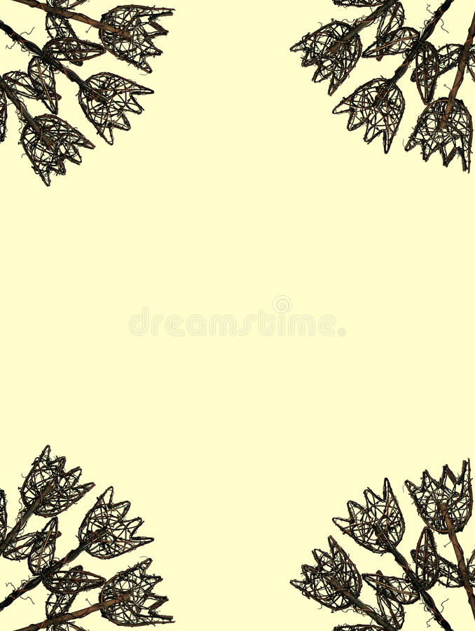 Download Yellow Tulips Of Wood Frame Stock Photo - Image of pattern, frame: 11605402