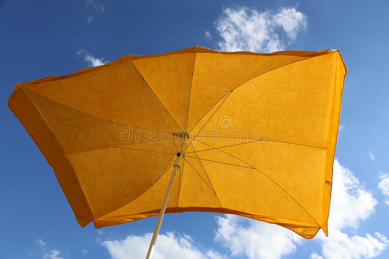 Download Yellow umbrella stock photo. Image of color, sunny, pink - 26117172