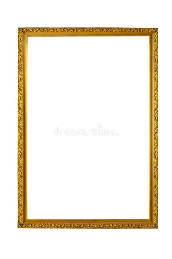 Yellow Vintage frame royalty free stock image