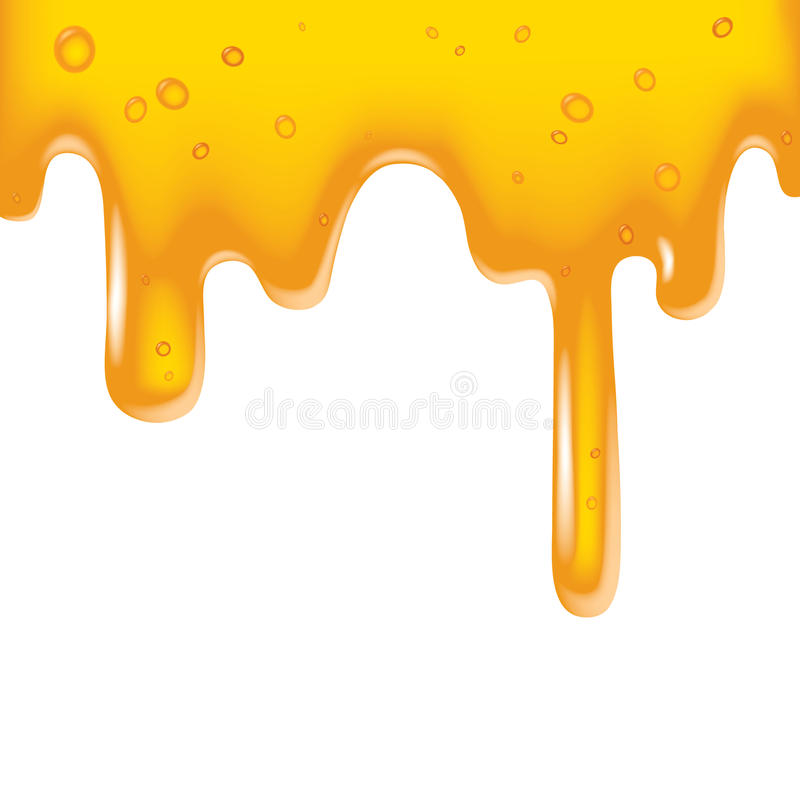 Download Yellow viscous liquid stock vector. Image of like, background - 10166107