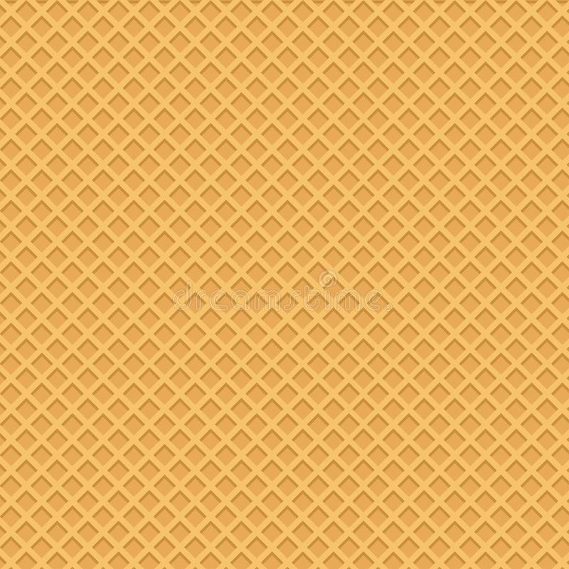 Yellow wafer background. Vector illustration vector illustration