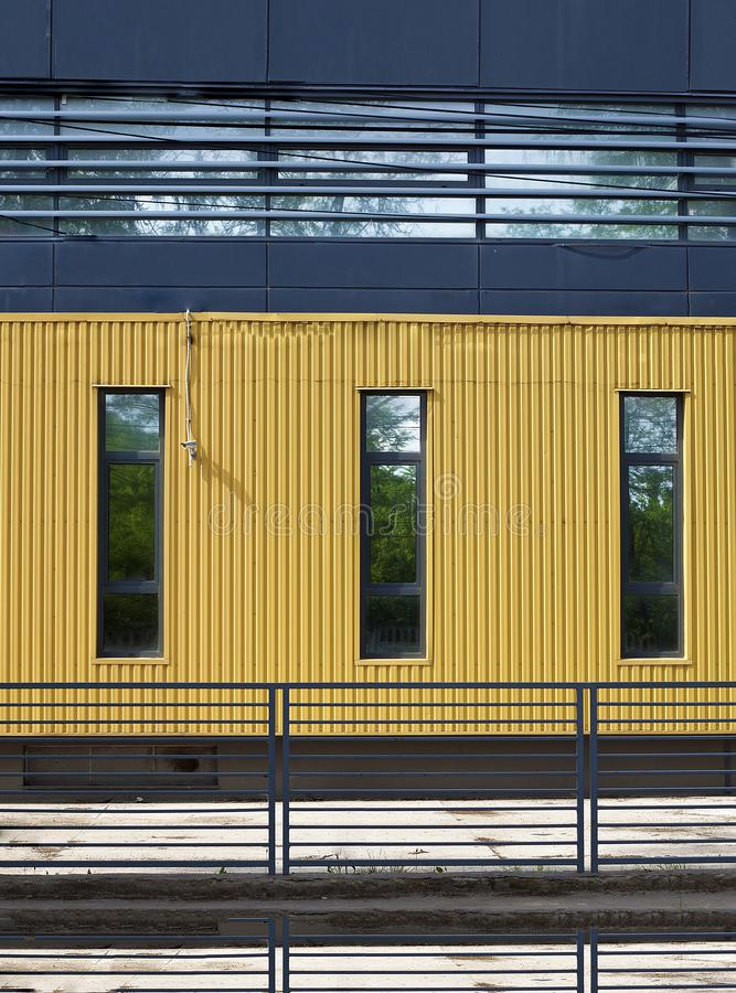Download Yellow wall stock image. Image of yellow, office, wall - 19771621