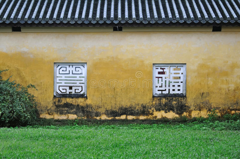 Download Yellow Wall And Window, Hue Citadel Stock Image - Image: 23622815
