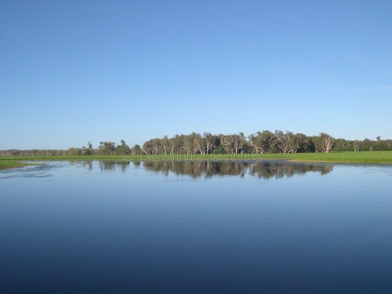 Yellow waters, australia stock photography
