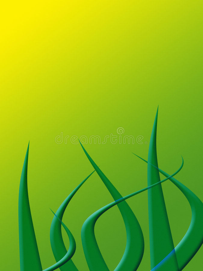 Download Yellow wave stock illustration. Image of green, texture - 1713933