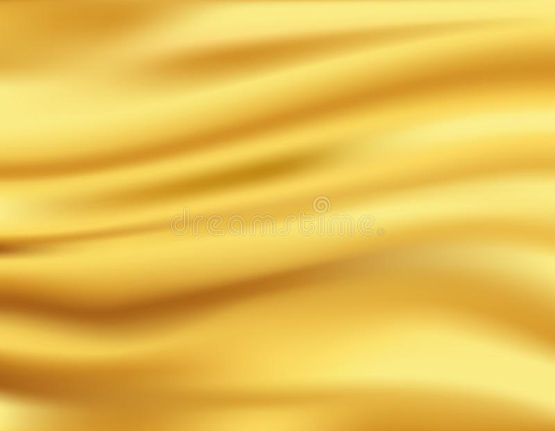 Download Yellow waves background stock vector. Image of texture - 32175961