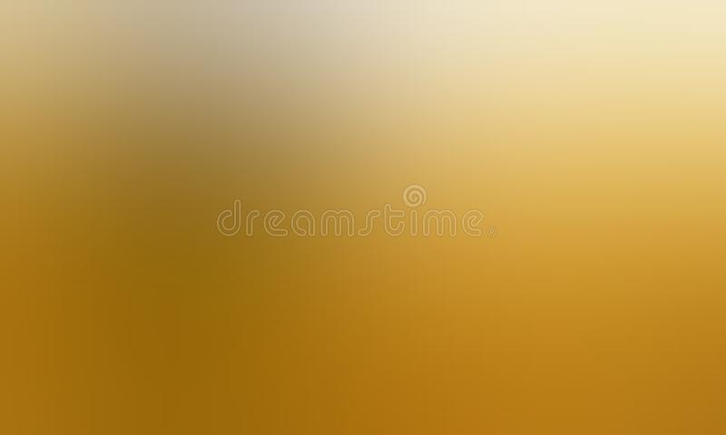 Yellow and white pastel color blur background wallpaper. stock illustration