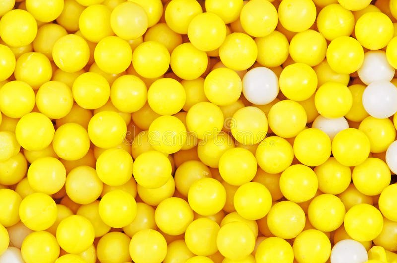 Download Yellow & White Pellets stock photo. Image of colour, mixed - 25313630