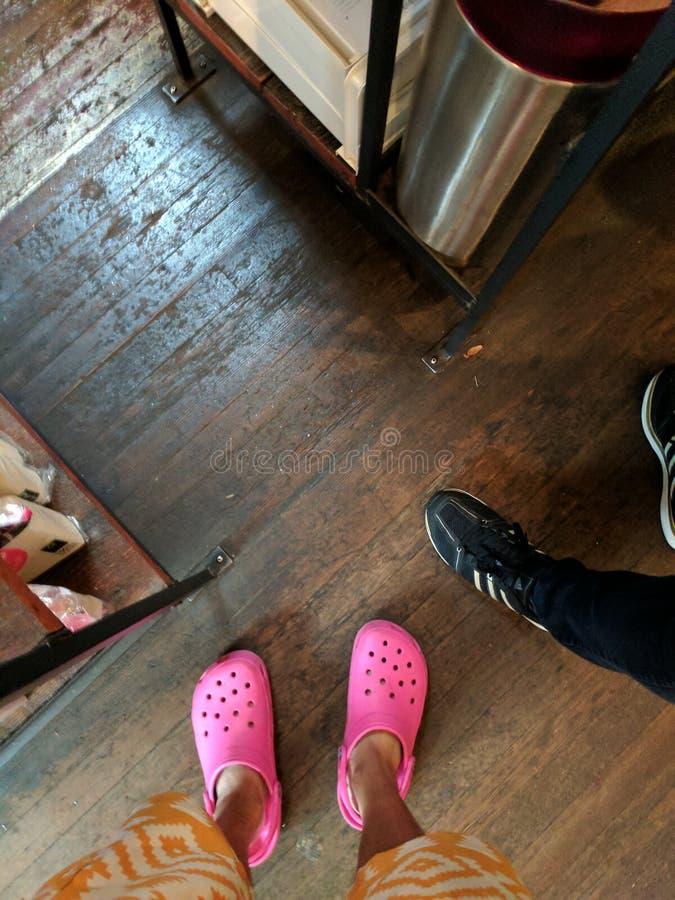 yellow white pink black IMG_20161109_103439 stock image