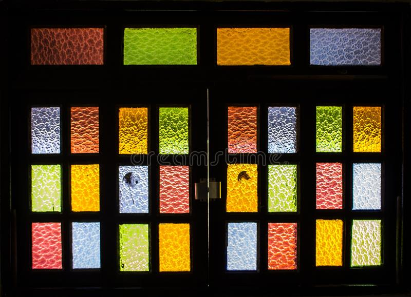 Yellow, Window, Glass, Stained Glass stock images