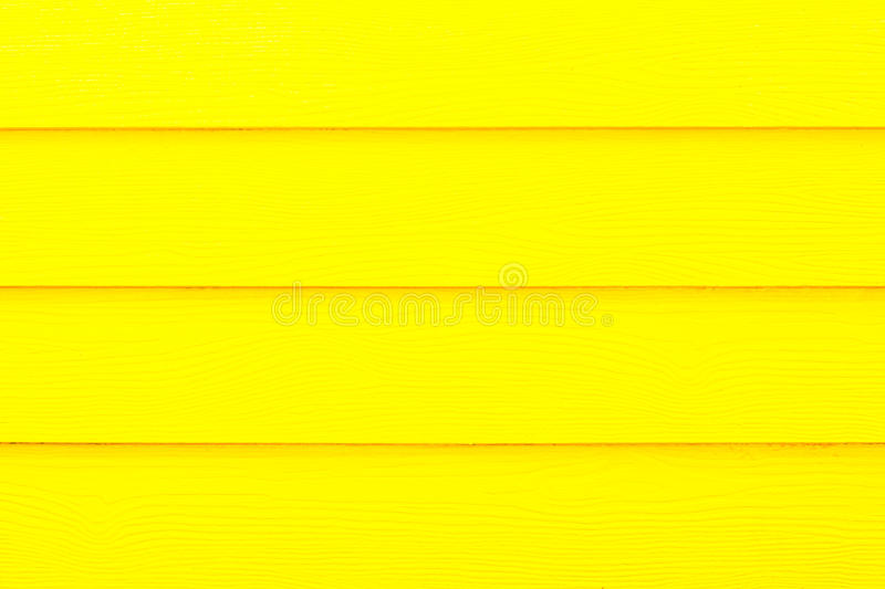 Yellow wood wall texture royalty free stock images