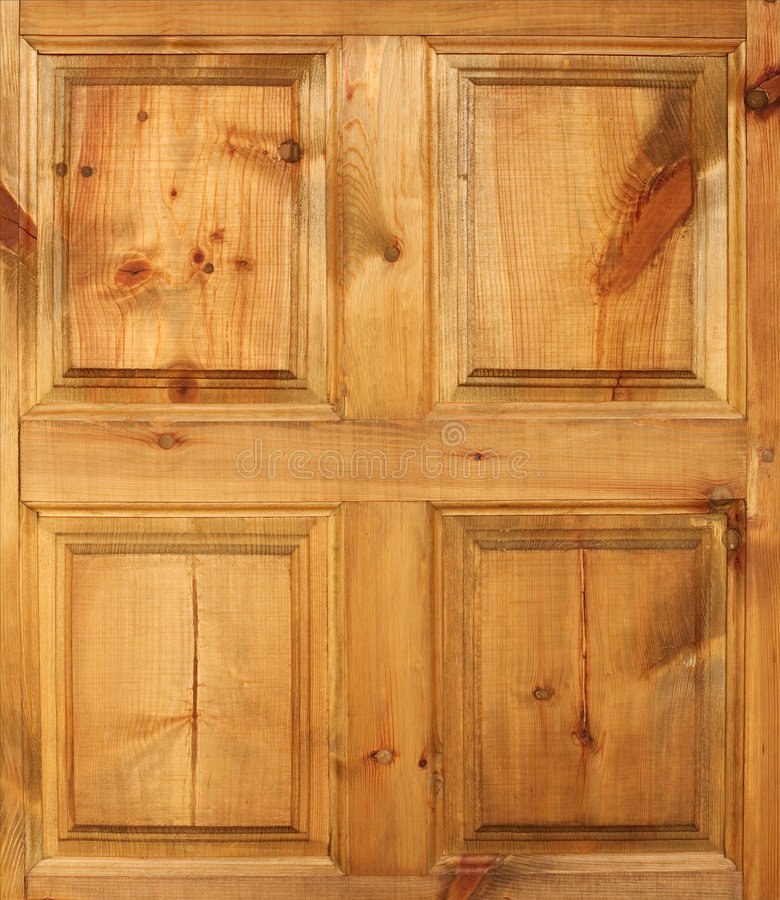 Yellow wooden door. The surface of yellow wooden door royalty free stock photos