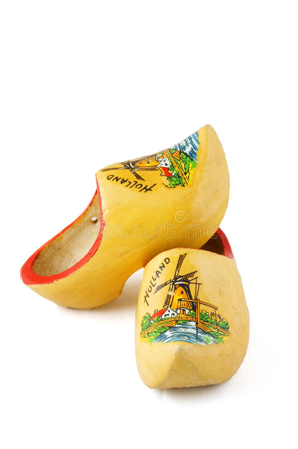 Free Yellow Wooden Shoes Stock Photos - 6514273