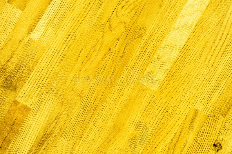 Yellow - wooden textured background. Rustic wall, shabby timber wood board stock images