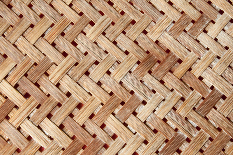 Download A Yellow Woven Wicker Material Stock Photo - Image: 15920488