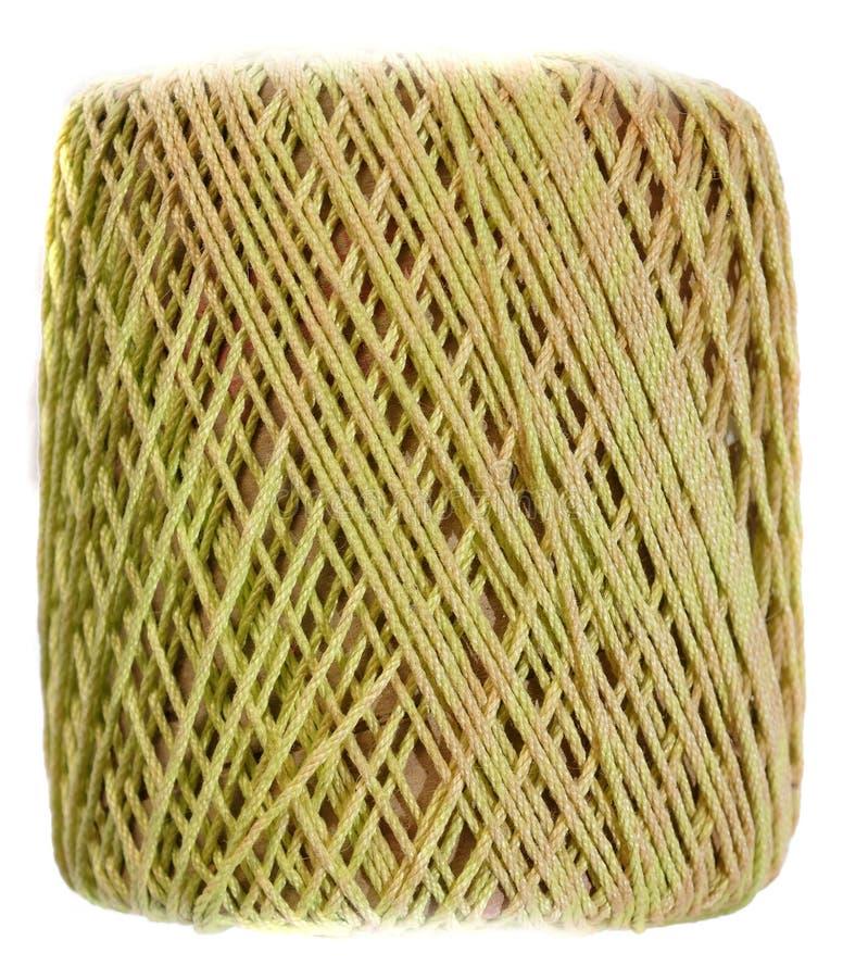 Download Yellow Yarn spool stock image. Image of tick, background - 11500865