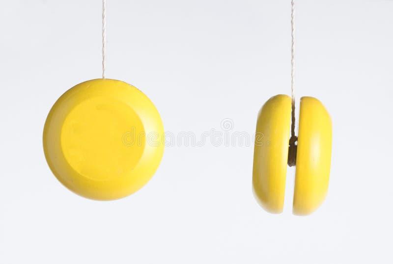 Yellow yo yo