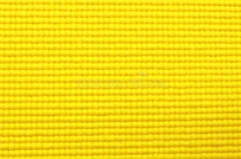 Download Yellow Yoga Mat Texture Background Stock Photo