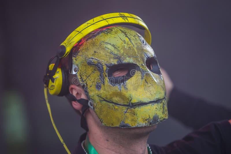 YellowHeadsen arkivfoton