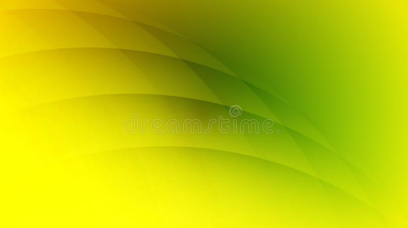 Yellowish Green curve line Abstract wallpaper vector illustration