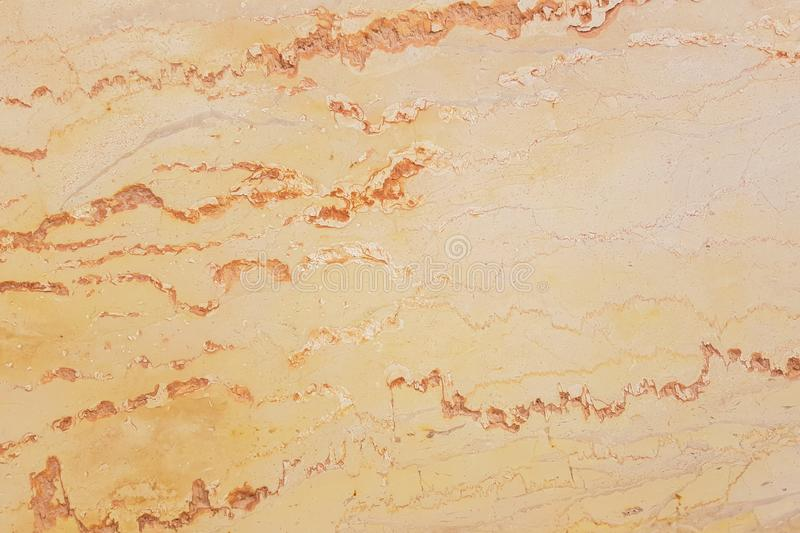 Yelloworange marble texture, detailed structure of marble in natural patterned stock photography