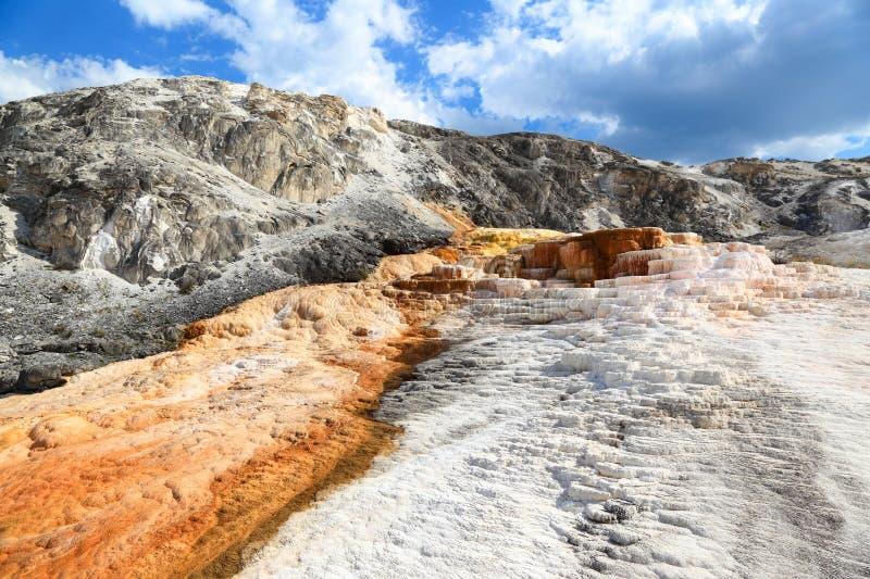 yellowstone immagini stock