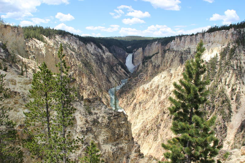 Yellowstone-Grand Canyon stockfotografie