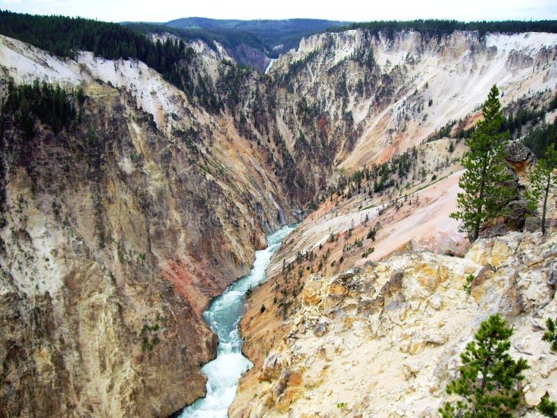 Yellowstone Grand Canyon royalty free stock photo