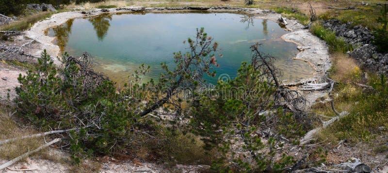 Yellowstone-heißer Frühling stockfotografie
