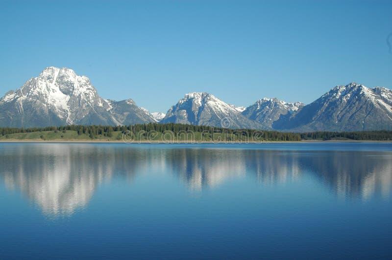 Yellowstone krajobrazu zdjęcie royalty free